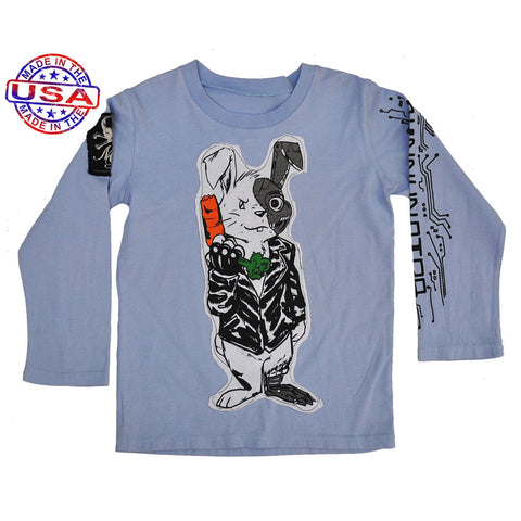 Boys Bunnynator Shirt by Monster Republic