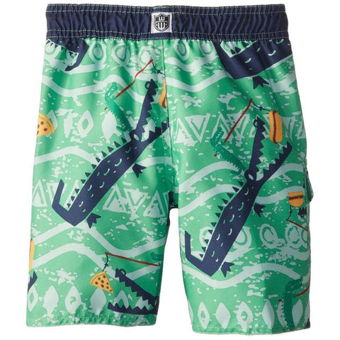 Boys' Hungry Gator Swim Trunks by Wes and Willy - The Boy's Store