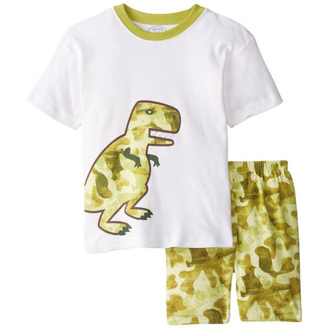 Little Boys' Dinosaur Pajamas Set by Sara's Print