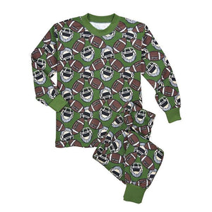 Boys Football Dreams Pajama Set by Sara's Print