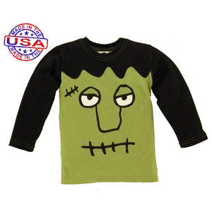 Boys Frankenstein Shirt by Mulberribush