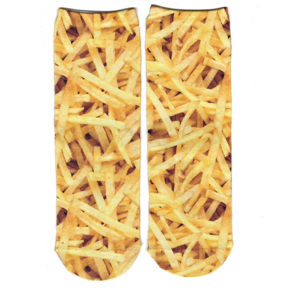 Boys French Fries Crew Socks by Sublime Designs
