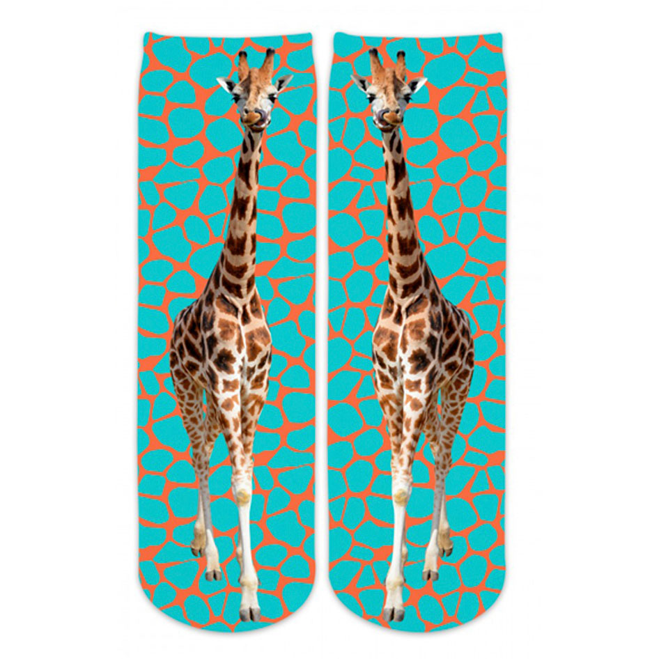 Boys Giraffe Crew Socks by Sublime Designs