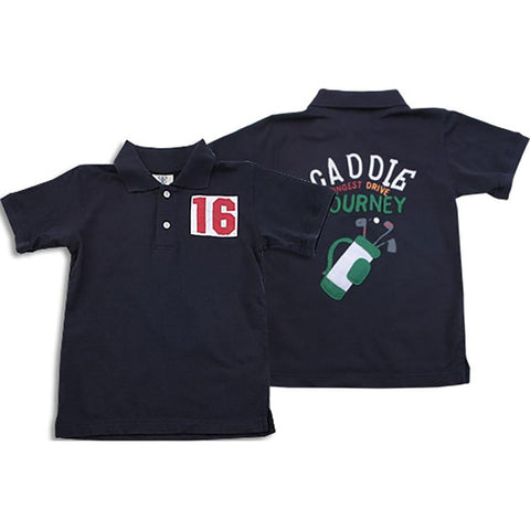 Boy's Caddie Polo Shirt by Wes and Willy - The Boy's Store