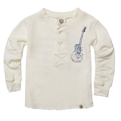 Boys' American Guitars Thermal Henley by Wes and Willy