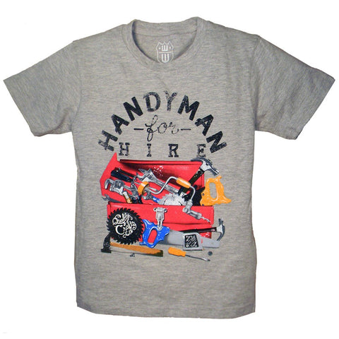 Boys Handyman Shirt by Wes and Willy