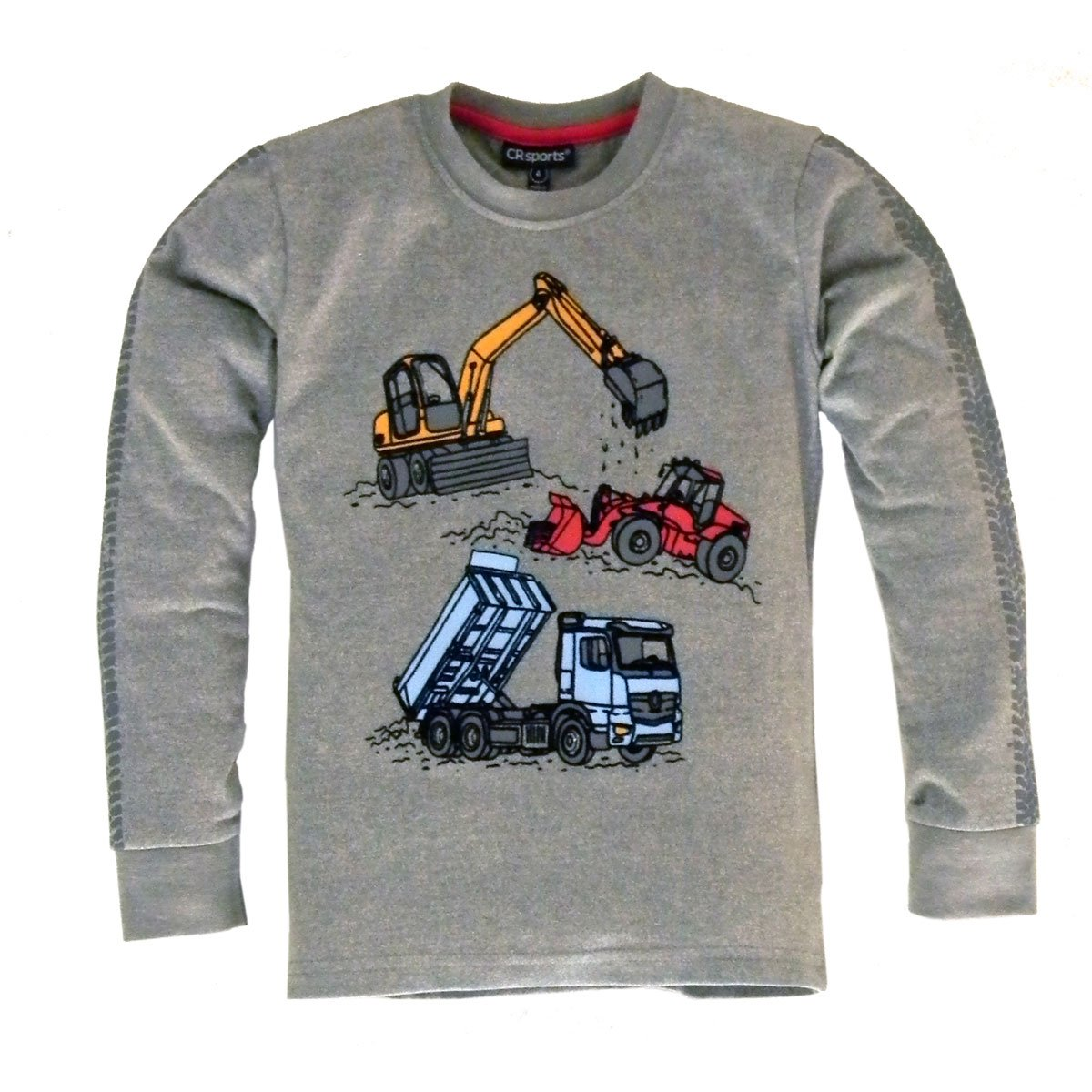 Boy's Construction Vehicle Shirt by CR Sports - The Boy's Store