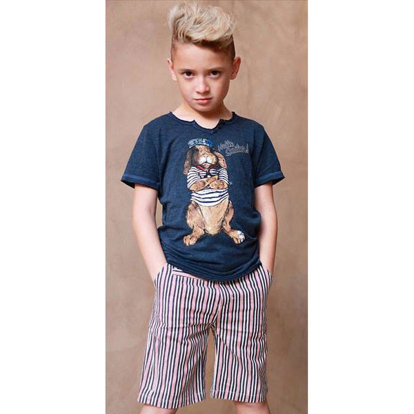Boys' Hello Sailor Shirt by Californian Vintage