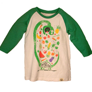 Boys Herbivore Shirt by Wes and Willy