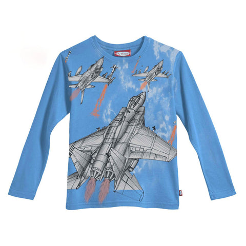 Boys' Jet Fighter Shirt by City Threads