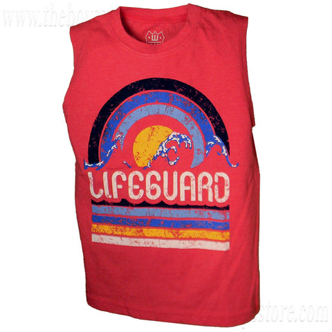 Boys' Lifeguard Tank Top by Wes and Willy