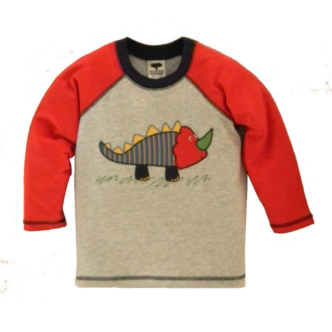 Boy's Little Monster Raglan Tee by Mulberribush