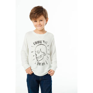 Boys' Living the Dream Crew Neck Pullover by Chaser