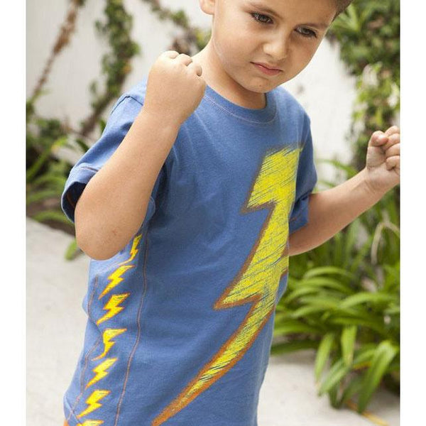 Boys' Lots O'Bolts Side Panel Tee by City Threads