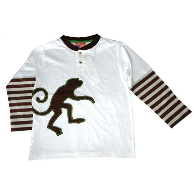 Little Boys' Monkey Twofer Shirt by CR Rugged
