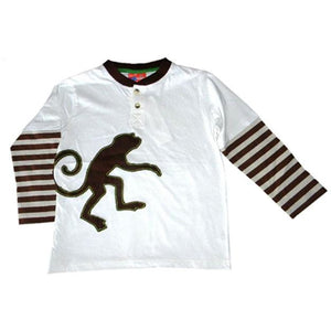 Little Boys' Monkey Twofer Shirt by CR Rugged - The Boy's Store