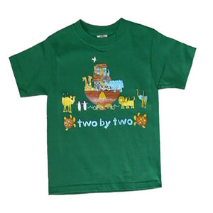 Little Boys' Noah's Ark Shirt by Teaching Togs