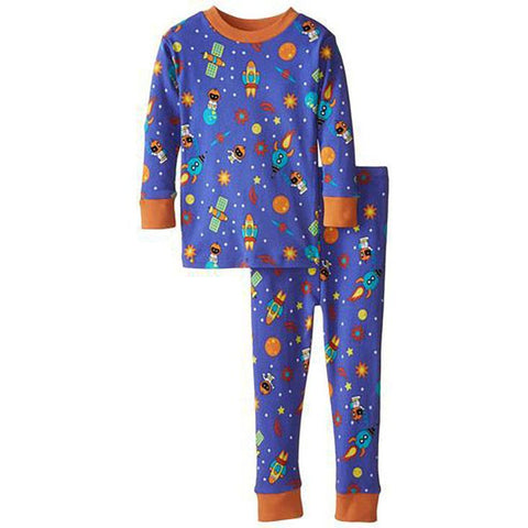 Boys Space Themed Organic Pajamas by New Jammies