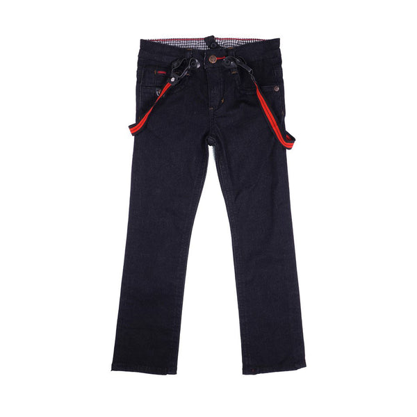 Boys Pants with Suspenders by Noruk