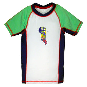 Boy's Parrot Rash Guard by Wes and Willy