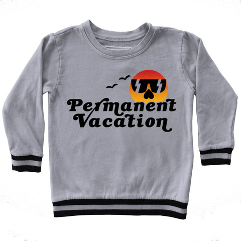 Boys' Permanent Vacation Sweatshirt by Tiny Whales