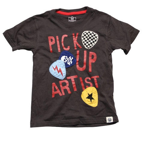 Boys' Pick Up Artist Shirt by Wes and Willy
