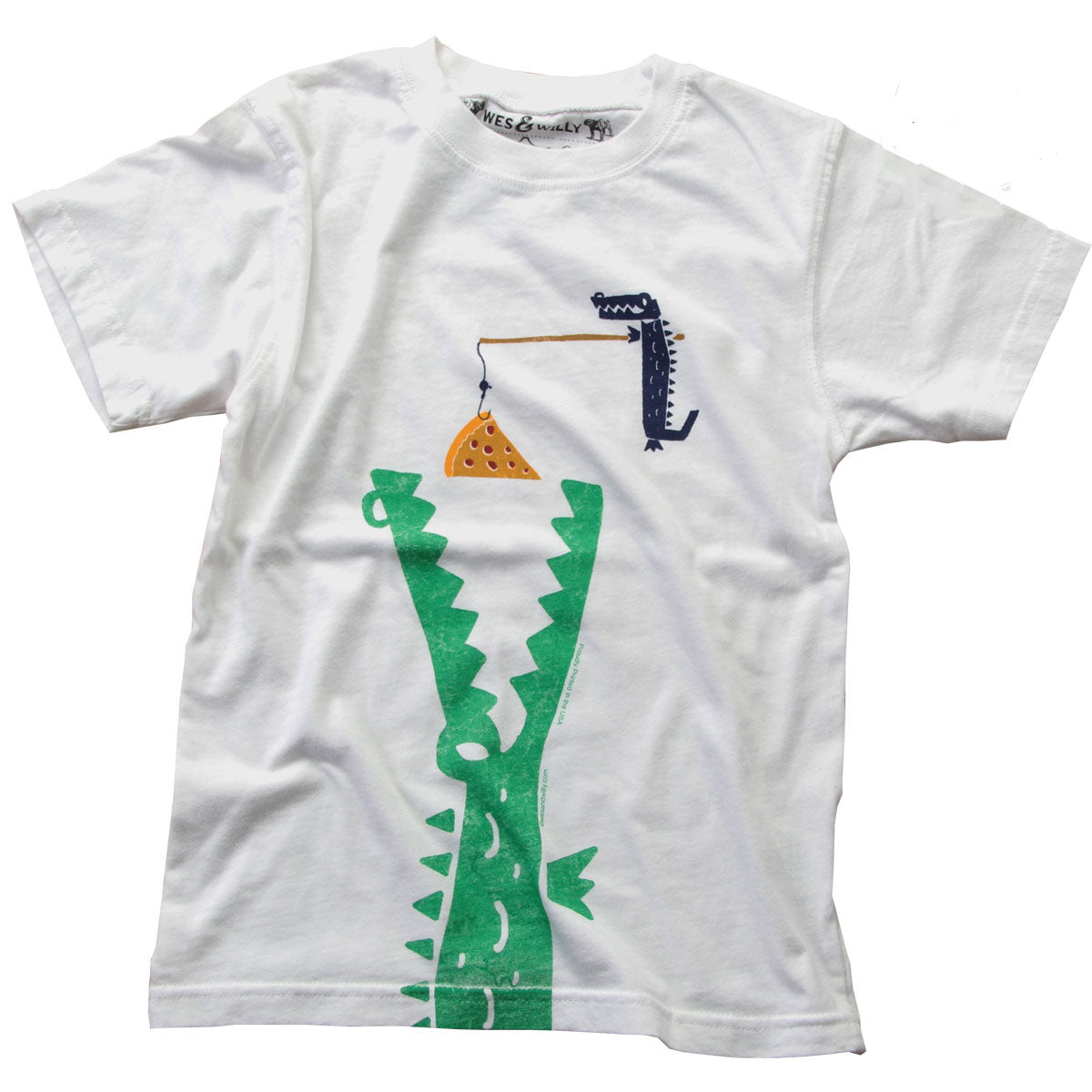 Boys' Hungry Gator Shirt by Wes and Willy