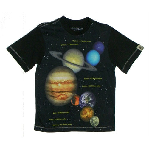 Boys Planets Shirt by Dogwood