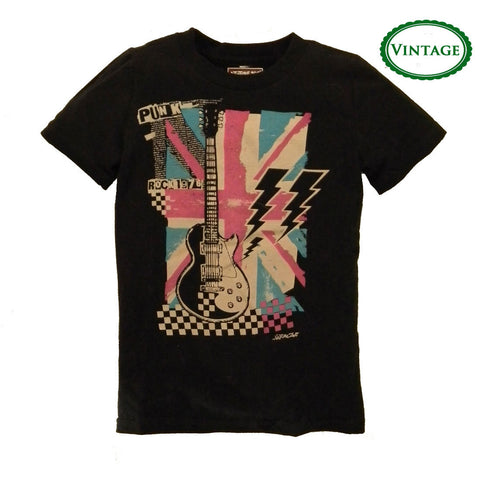 Boys Vintage Punk Rock Shirt by Neptune Zoo