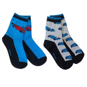 Boys' Racecars Socks by NowaLi