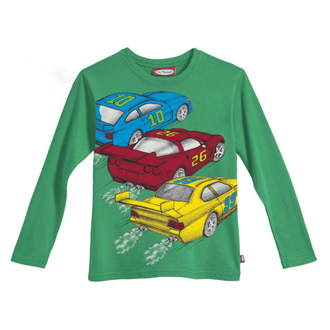 Boys' Race Cars Shirt by City Threads