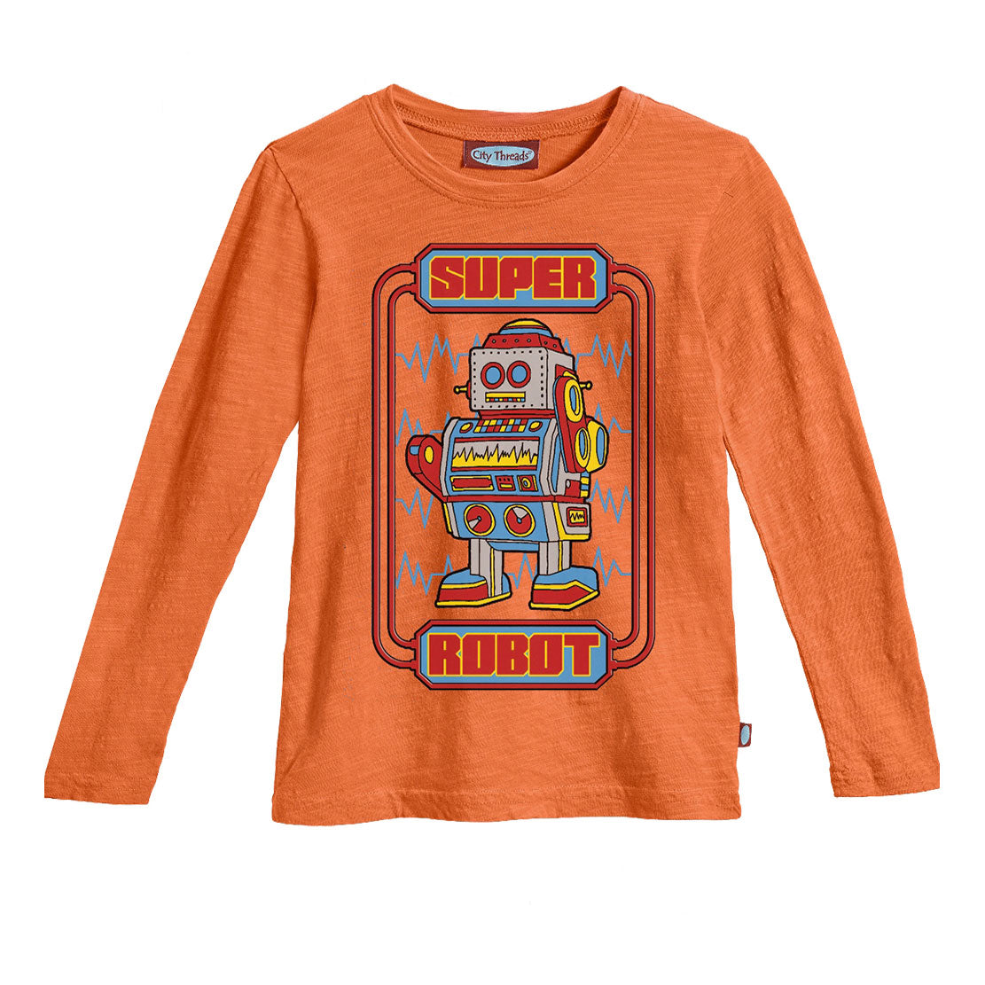 Boys' Super Robot Shirt by City Threads