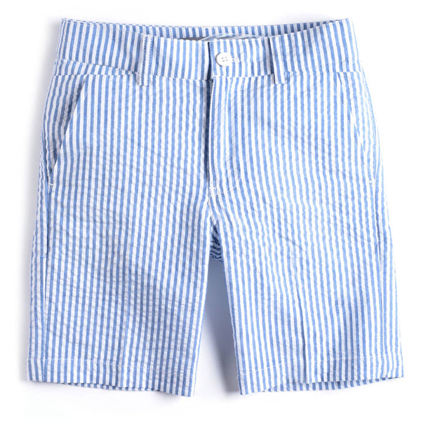 Boys' Seersucker Trouser Shorts by Appaman