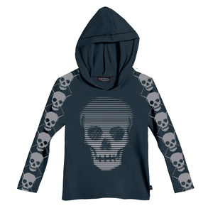Boys' Skulls Hoodie by City Threads - The Boy's Store