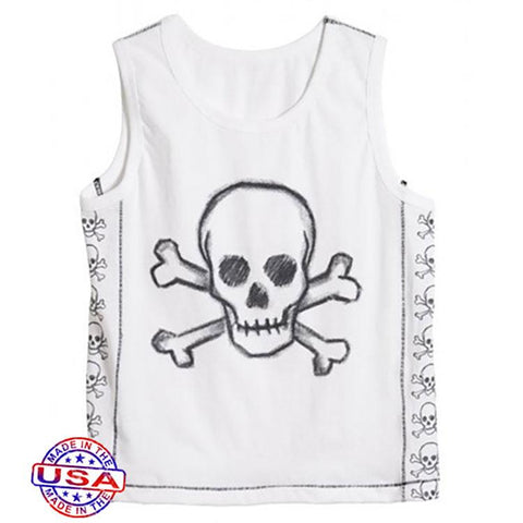 Boys' Skull Tank Top by City Threads