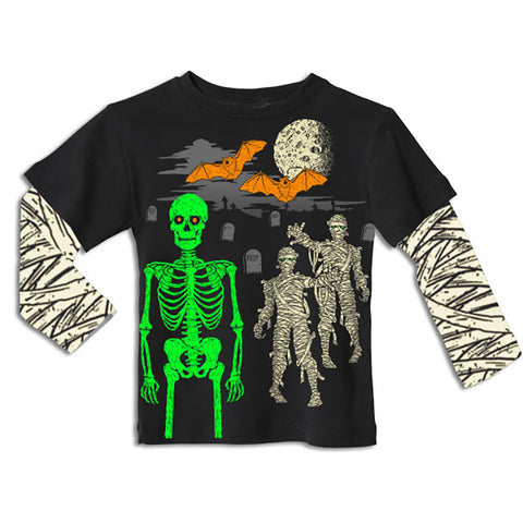 Boys' Spooky Night Shirt by City Threads