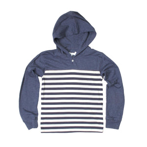 Boys Striped Henley By Jack Thomas - The Boy's Store