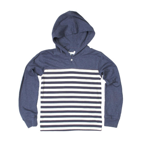 Boys Striped Henley By Jack Thomas