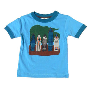 Little Boys Surfboard Shirt by CR Sport