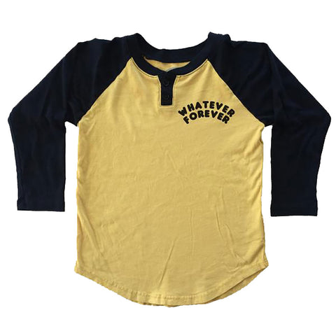 Boys' Whatever Raglan Henley by Tiny Whales