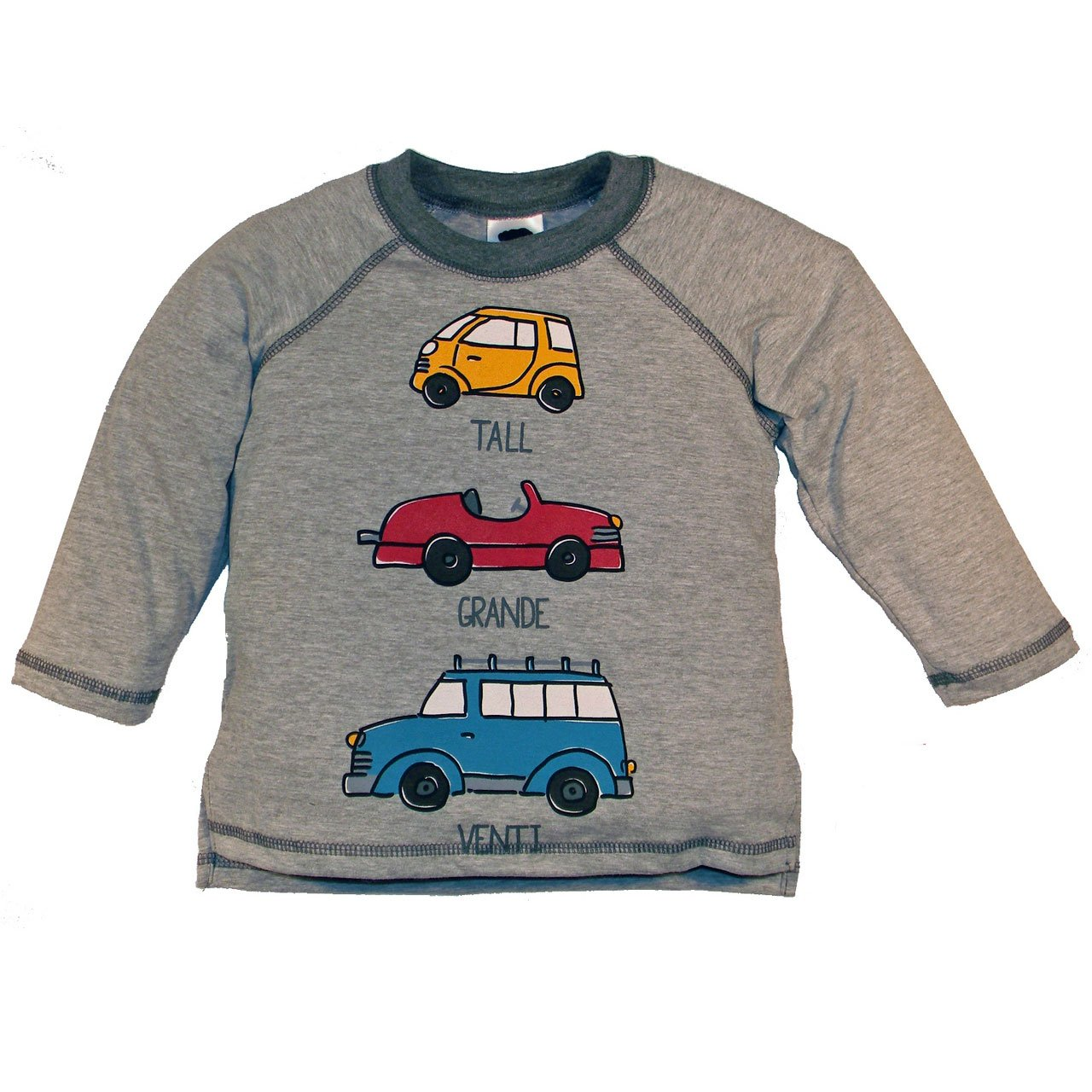 Boys' Tall, Grande, Venti Car Shirt by Mulberribush - The Boy's Store