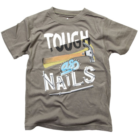 Boys' Tough as Nails Shirt by Wes & Willy