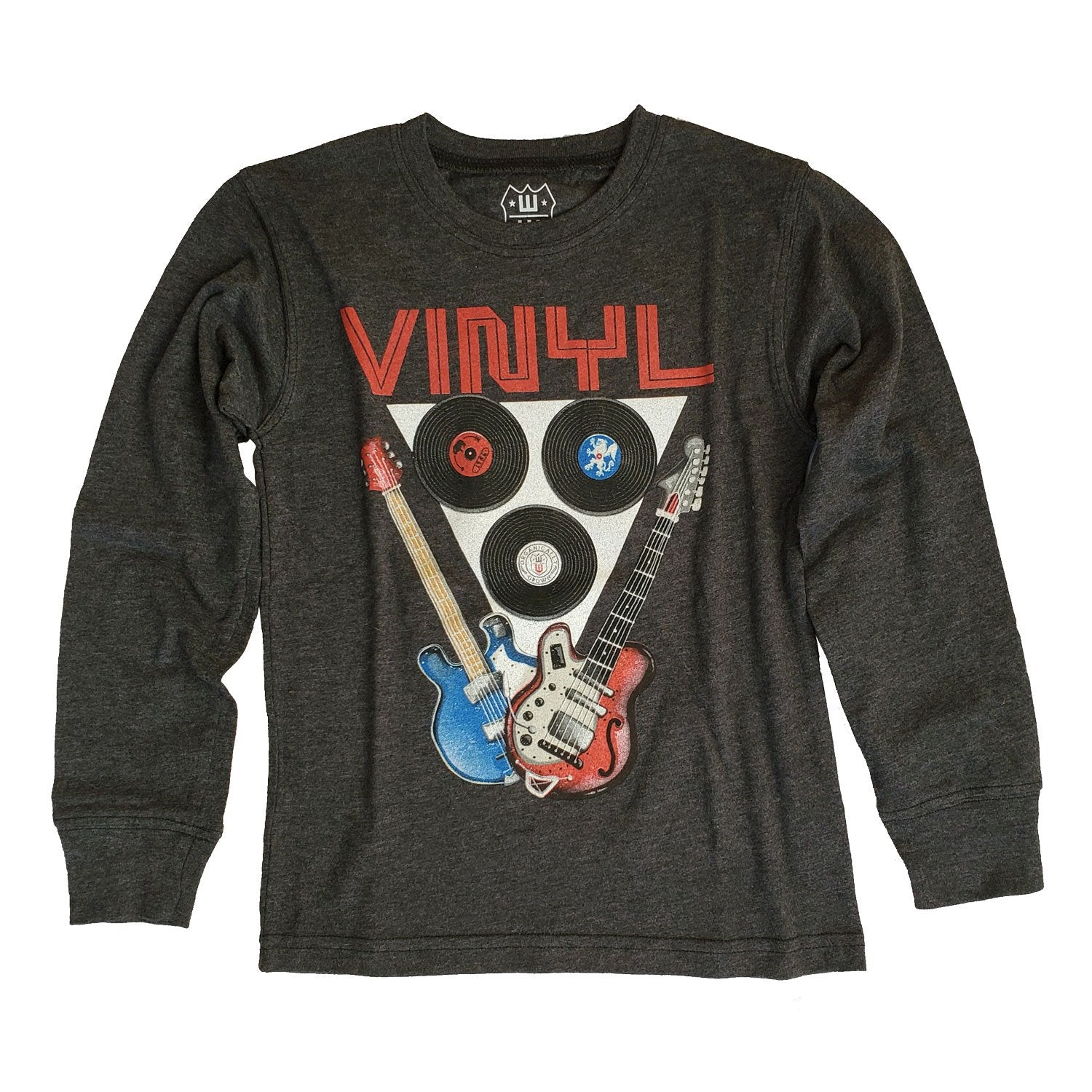 Boys' Vinyl Shirt by Wes and Willy