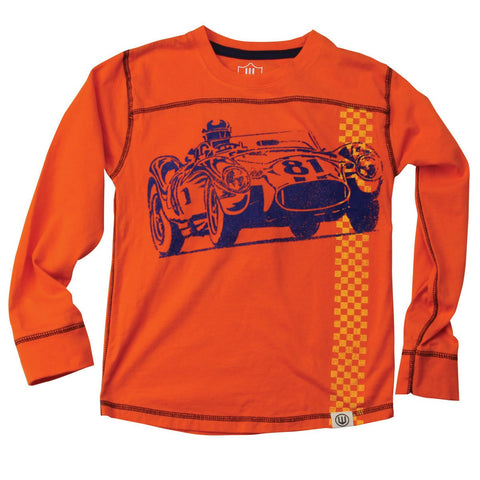 Boys' Vintage Race Car Shirt by Wes and Willy - The Boy's Store