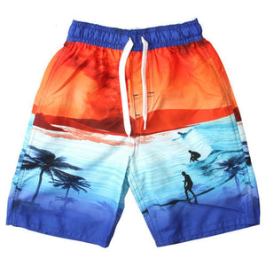 Boys Volcano Swim Trunks by Wes and Willy