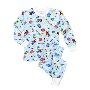 Boys' Vroom Pajama Set by Sara's Prints