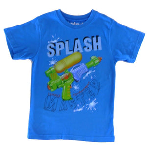 Boys Splash Master Shirt by Wes and Willy