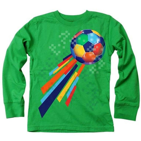 Boys' Soccer Ball T-Shirt by Wes and Willy