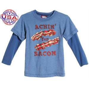 Boys' Achin for Bacon Twofer by City Threads