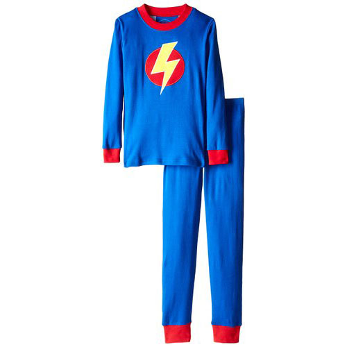 Boy's Lightning Bolt Pajamas by Sara's Print